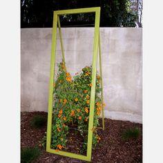 modern garden trellis