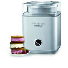 Cool off with a rich homemade ice cream sundae or a fruity sorbet ready in 25 minutes or less! The Cuisinart® Pure Indulgence™ Ice Cream Maker delivers 2 quarts (1.9 L) of fast, fabulous, frozen desserts, perfect for a family dinner or a friendly party the perfect way to guarantee a sweet ending for everybody!