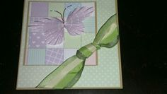 Card made at crafty ladies craft class