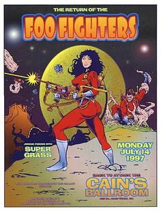 Foo Fighters Posters | newburycomics.com - Foo Fighters-Poster by David DeanPosters