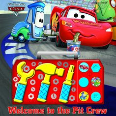 Play-a-Sound: The World of Cars, Welcome to the Pit Crew (Toolbox Sound Book) (Disney/Pixar: The World of Cars) Price:$0.5