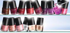 Explosión de color en tus uñas! Pure Colour de Oriflame Beauty.