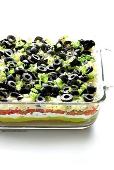 Easy 7 Layer Dip from @wearsmanyhats