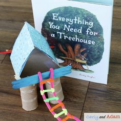 Four End of the Year Read Alouds and STEM Challenges Your Students will Love — Carly and Adam End Of Year Activities, Steam Activities, Science Activities, Spring Activities, Science Experiments, Building A Treehouse, Magic Treehouse, Teaching Science, Stem Teaching