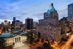 3 of the Best Hotels in Downtown Vancouver | Canada | Qantas Travel Insider