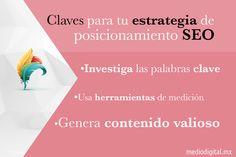 Saca provecho del posicionamiento en las búsquedas orgánicas con estos prácticos tips para #SEO. http://mediodigital.mx/seo/