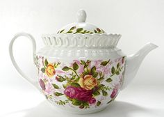 Royal Albert Old Country Roses Teapot Pierced Discontinued Royal Albert http://www.amazon.com/dp/B00NU793LM/ref=cm_sw_r_pi_dp_XCLIub00BGNQ4