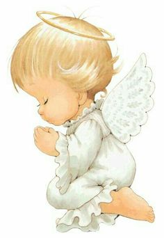Angel by Ruth Morehead Angel Images, Angel Pictures, Cute Pictures, Angels Among Us, Angel Art, Precious Moments, Christmas Angels, Cute Drawings, Cute Art