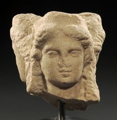 Triple Head of Hecateion - Hellenistic marble, circa 4th-3rd c. BC - at the Royal Athena collection