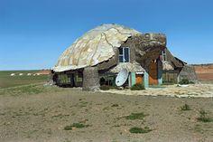 """Turtle Cafe"" -- [Located in the tourist camp *Bayanzag - Gurvansaikhan National Park - Gobi Desert, Mongolia*]~[Photographer Pavel Filatov]'h4d'121223"