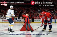 Definitely one of the BEST moments of this season!!-I entered the Pin a Moment to Win a Moment contest with my top moment of the 2013-14 Capitals season. #ScarletCapsMoments