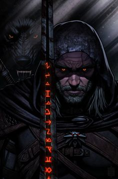Witcher 3 Geralt, Witcher 3 Art, The Witcher Game, Witcher Tattoo, Witcher Wallpaper, Fantasy Art Landscapes, Video Game Art, Video Games, White Wolf