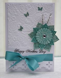Spellbinders.  Omg I absolutely LOVE the embossing folder on this. I need one!!!  :-)