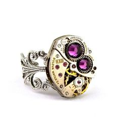 awesome anillo reloj joyas