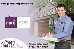 Avail Special offer- $100.00 Off On all Single  Garage Doors in Dallas
