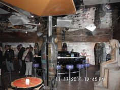 At look at one part of the Cleopatra lounge on the Fantasy