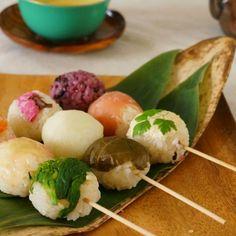 三色団子手まり寿司🌸