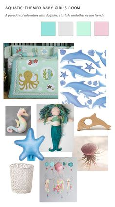 Oceanic Collage of ideas