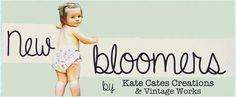 Vintage inspired bloomers by Kate Cates over at the Goody 2 Su's web boutique.