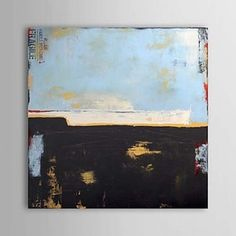 Hand Painted Oil Painting Abstract 1303-AB0387 - WallArtBox
