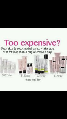 Skincare for less than a cup of coffee a day! Save today! http://www.marykay.com/shelly_moore26