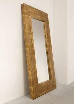 De Castelli Collin Mirror #brass #salone2015 Photo: © Alberto Parise