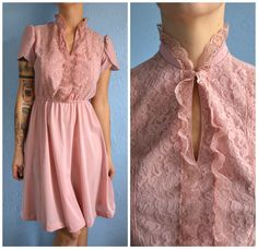 Beautiful  Vintage Party Hipster High Fashion Summer Dress.