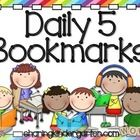 {Updated on 6/10/14} This file is for a colorful, visual two sided bookmark for The Daily 5. One side is for Read to Self and the other is for Read...