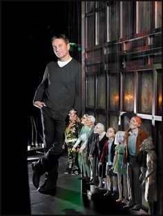Master puppeteer Ronnie Burkett (Theatre of Marionettes). Photo © Trudie Lee.