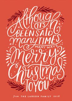 Christmas Phrase Merry Christmas Holiday Card by Minted artist, Alethea and Ruth. Customizable by you on Minted Phrase Merry Christmas Holiday Card by Minted artist, Alethea and Ruth. Customizable by you on Minted. Christmas Design, Christmas Art, Christmas Holidays, Christmas Poster, Christmas Drawing, Winter Holiday, Holiday Fun, Happy Holidays, Vintage Christmas