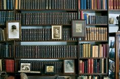 Freud's bookcase. London, 2011. From Book Portraits.