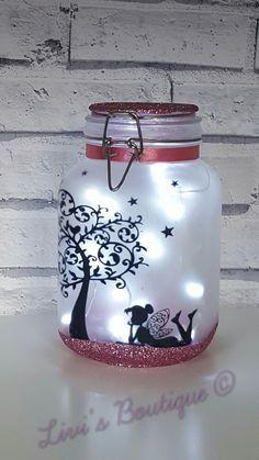 Fairy Night Light Fairy Lights Fairy Lantern Fairy Jar Light Jars Fairy Garden Flower Girls Gift Wedding Decor Bedroom Light Home Decor