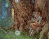 Song of Everland Faun 8.5 x11 Print