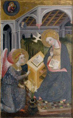 Milano Pinacoteca di Brera - Annunciazione - Pere Serra