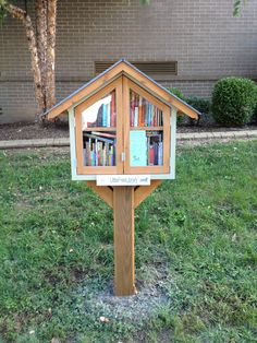 April Farmer. Louisville, KY. The Field Elementary Little Free Library is one of four built by Girl Scout Troop 835 as a Silver Project. The girls ran a book drive and built the libraries under the direction of two amazing parents, who also donated the designs, building materials, and time in their workshop. All the girls in the troop attended Field at one point or another, so this library has a special place in their hears. The troop will be the stewards of the library for the next two years.