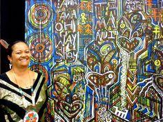 Tawera Tahuri - Tawera Tahuri Maori Designs, Nz Art, Madhubani Art, Maori Art, Doodles Zentangles, Doodle Art, Psychedelic, Art Gallery, Design Inspiration