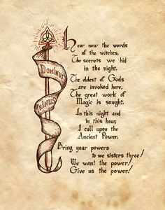 """""""Dominus Trinus"""" - Charmed - Book of Shadows"""