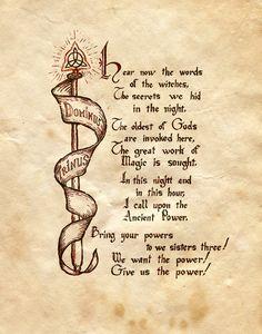Dominus trinus book of shadows