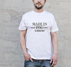 Awesomeness Shirt Made In 1996 Shirt 22nd Birthday Shirt