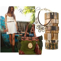"""Backyard BBQ"" by kcfash on Polyvore"