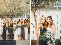 palm springs-inspired bridal bouquets by TEND