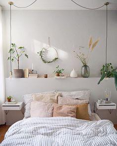 Dusty Pink Bedroom, Pink Bedroom Walls, Clean Bedroom, Small Room Bedroom, Home Bedroom, Bedroom Decor, Bedrooms, Bedroom Color Schemes, Bedroom Colors