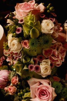 Composizioni floreali #matrimonio