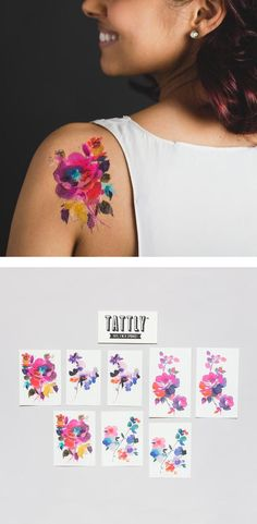 Want to rock some beautiful body art without the life-long commitment?