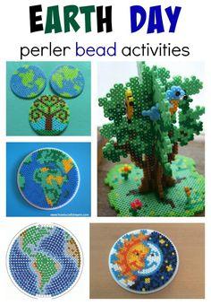 Föld napja Perler gyöngy tevékenységek