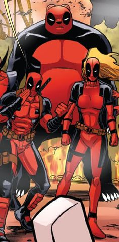 pandapool and girlpool together with dead pool!