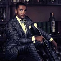 Mens Fashion : How to Dress to Impress Girls - Afrogle - African Entertainment Website Sharp Dressed Man, Well Dressed Men, Christian Keyes, Dapper Suits, Stylish Mens Outfits, Casual Outfits, Handsome Black Men, Dapper Gentleman, Suit Accessories