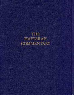 Haftarah Commentary, The