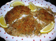 Fillet of Fish Oreganata