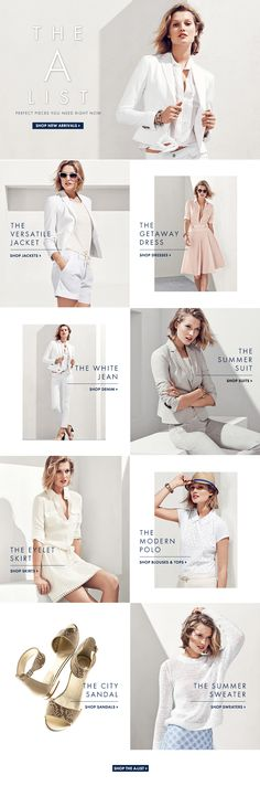 The A List from Ann Taylor